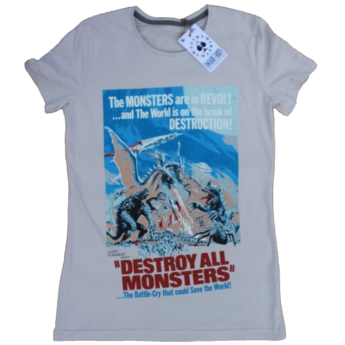 Футболка Destroy All Monsters