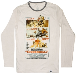 Футболка 007.Thunderball: long sleeve