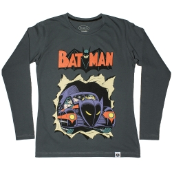Футболка Batman: grey long sleeve